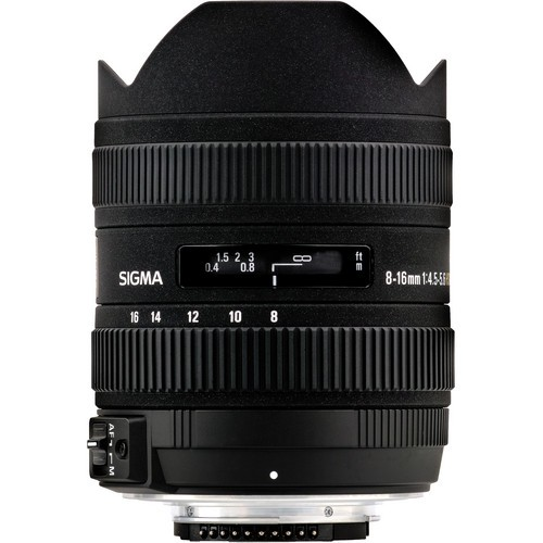 Sigma AF 8-16mm f/4.5-5.6 DC HSM Objektiv für Sony