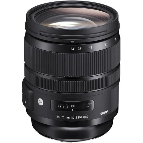 Sigma Art 24-70mm f/2.8 GD OS HSM - Frontansicht