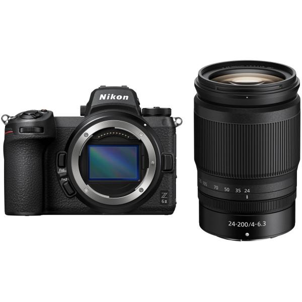 Nikon Z6II Kit mit Z24-200 f/4-6.3 VR