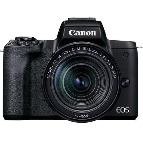 Canon EOS M50 Mark II Kit mit EF-M 18-150mm IS STM schwarz