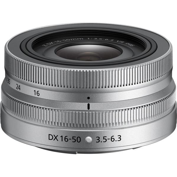 Nikon Z DX 16-50mm f/3,5-6,3 VR Silver Edition