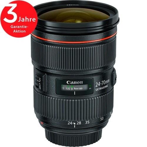 Canon EF 24-70mm f/2.8 L II USM Objektiv - Schrägansicht