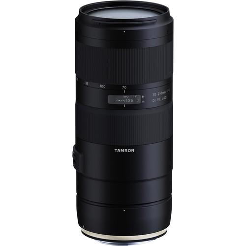 Tamron 70-210mm f/4 Di VC USD Objektiv - Frontansicht