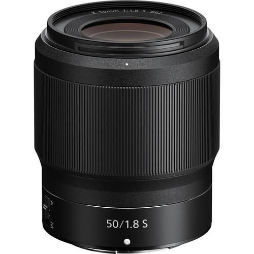Nikon Z 50mm f/1.8 S Objektiv - Frontansicht