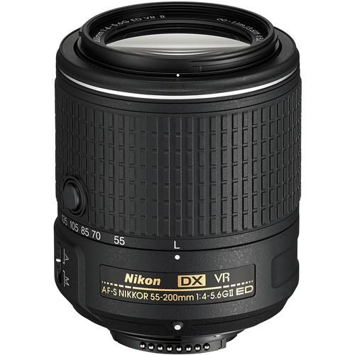 Nikon AF-S DX Nikkor 55-200mm f/4-5.6 G ED VR II Objektiv