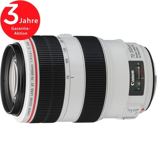 Canon EF 70-300mm f/4-5.6 L IS USM Objektiv - Frontansicht