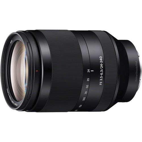 Sony SEL FE 24-240mm F3.5-6.3 OSS - Frontansicht