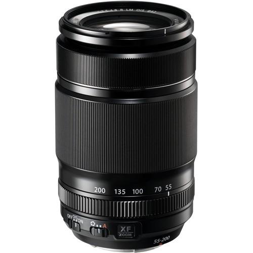 Fujifilm XF 55-200mm f/3.5-4.8 R LM O.I.S. Objektiv - Frontansicht