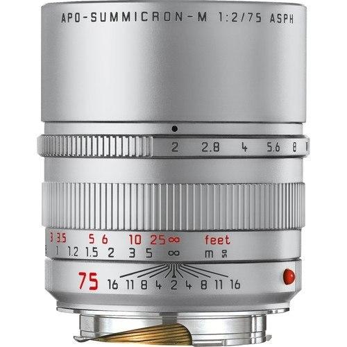 Leica APO-Summicron-M 75mm f/2 ASPH. Objektiv silber (11701)