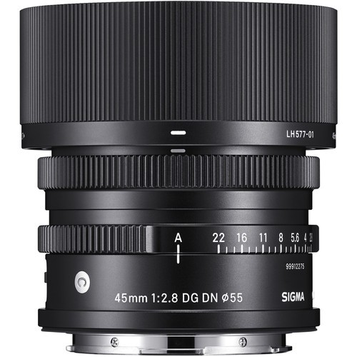 Sigma 45mm f/2.8 DG DN Contemporary Objektiv - Frontansicht
