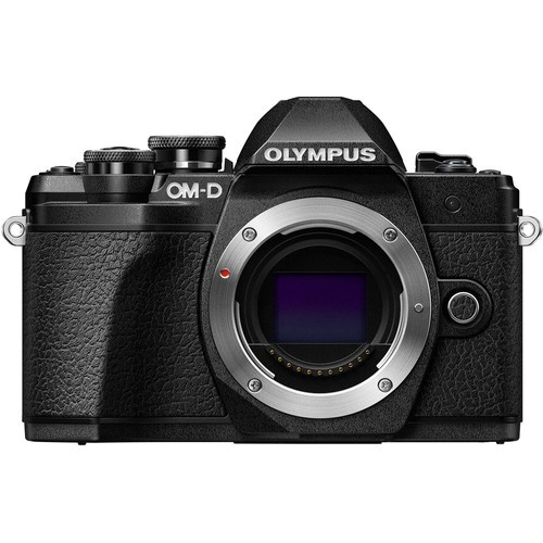 Olympus OM-D E-M10 Mark III Gehäuse - Frontansicht