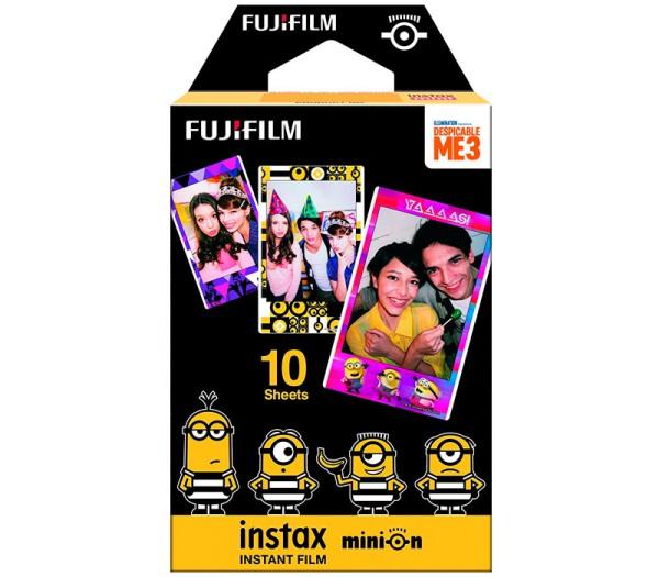 Fujifilm Instax Mini 8 Minion DM3 Sofortbildfilm - Frontansicht