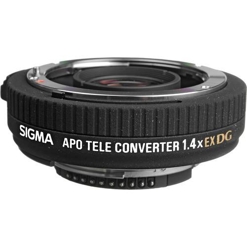 Sigma Telekonverter 1.4x DG APO für Nikon - Frontansicht