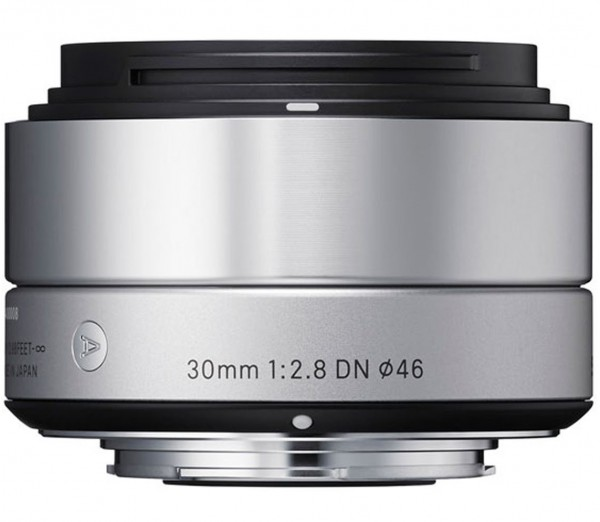 Sigma 30mm f/2.8 DN Art Objektiv silber für Sony E