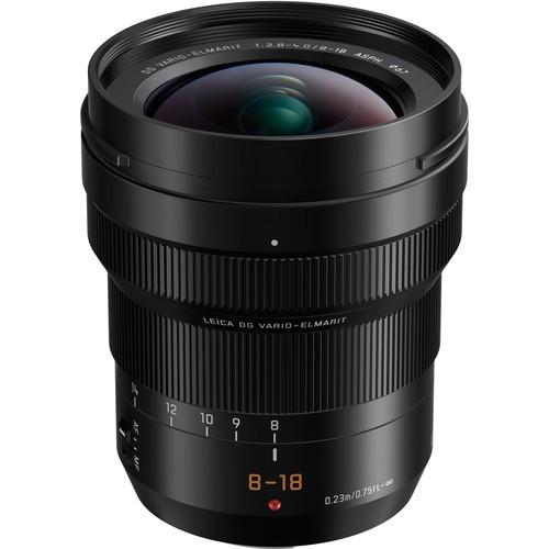 Panasonic Leica DG Vario-Elmarit 8-18mm f/2.8-4 ASPH. Objektiv - Frontansicht