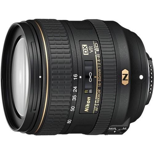 Nikon AF-S DX Nikkor 16-80mm f/2.8-4.0 E ED VR Objektiv