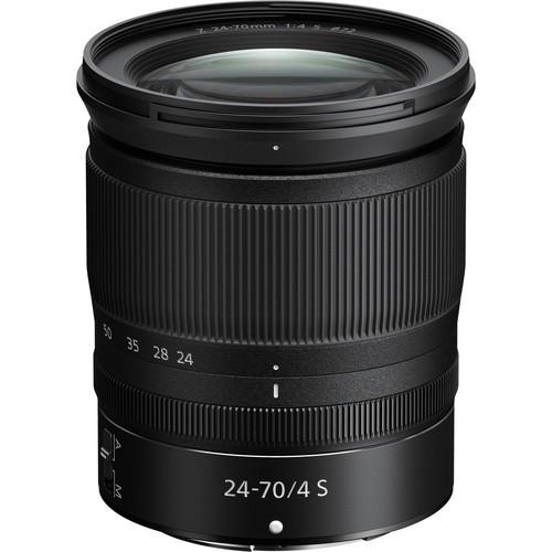 Nikon Z 24-70mm F/4 S Objektiv - Frontansicht