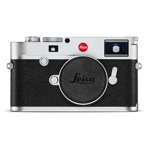 Leica M10 Gehäuse silber - Frontansicht