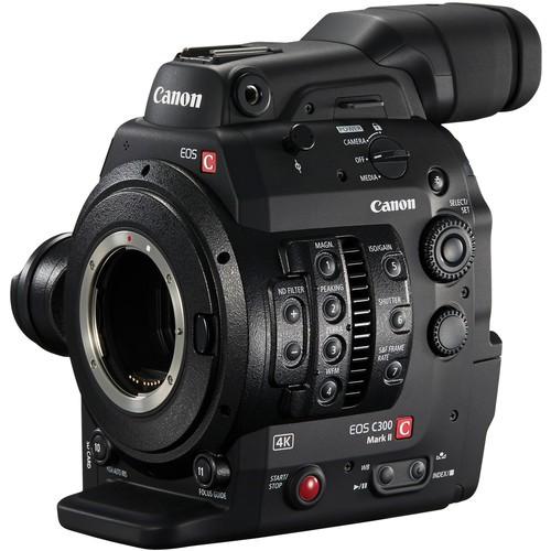 Canon EOS C300 Mark II Gehäuse - Schrägansicht