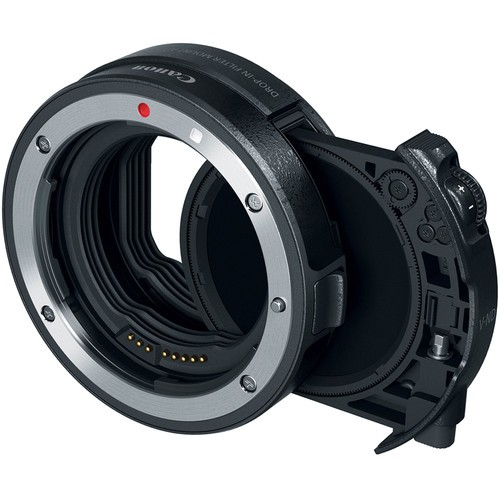 Canon EF - EOS R Bajonettadapter mit Einsteckfilter C-PL