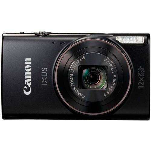 Canon IXUS 285 HS schwarz - Frontansicht
