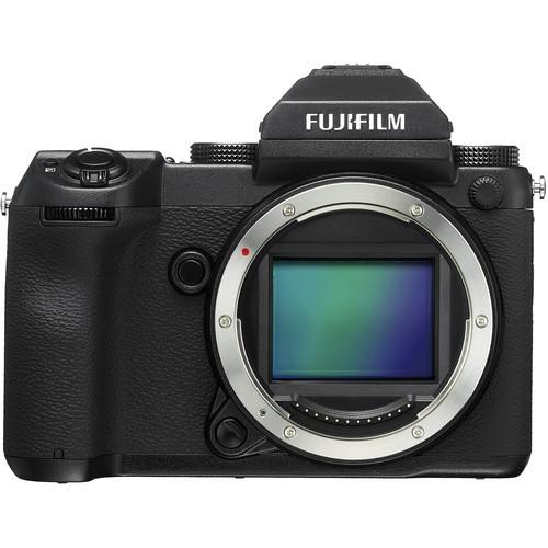 Fujifilm GFX 50S - Frontansicht