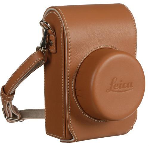 Leica Ledertasche D-LUX (TYP 109) Cognac braun 18821