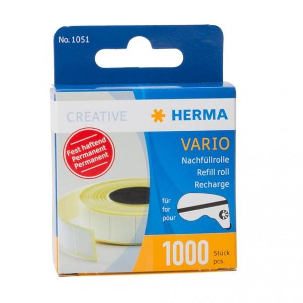 Herma 1051 Vario Nachfüllrolle mit 1000 Klebestücken