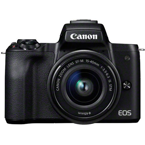 Canon EOS M50 Kit - Frontansicht