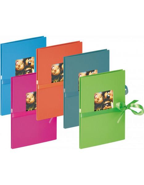 """Walther Leporello Album """"Fun"""" 13x18cm für 12 Fotos, verschiedene Farben (ML-110)"""
