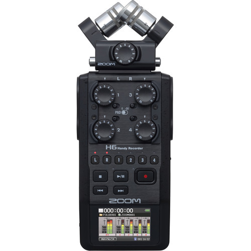Zoom H6 Mobilrecorder