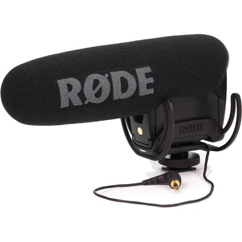 Rode VideoMic Pro+ Mikrofon - Schrägansicht