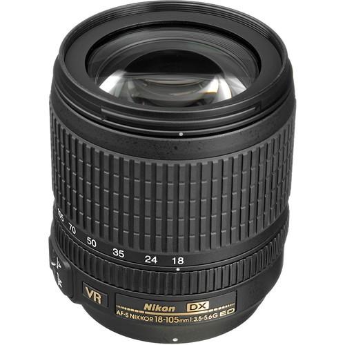 Nikon AF-S DX Nikkor 18-105mm f/3.5-5.6 G ED VR Objektiv