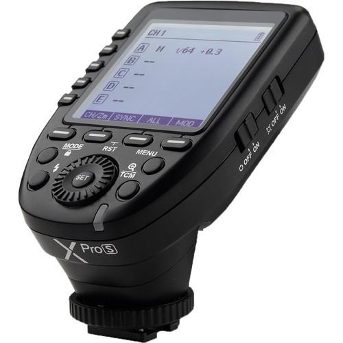 Godox XProS TTL Wireless Blitzauslöser für Sony - Schrägansicht