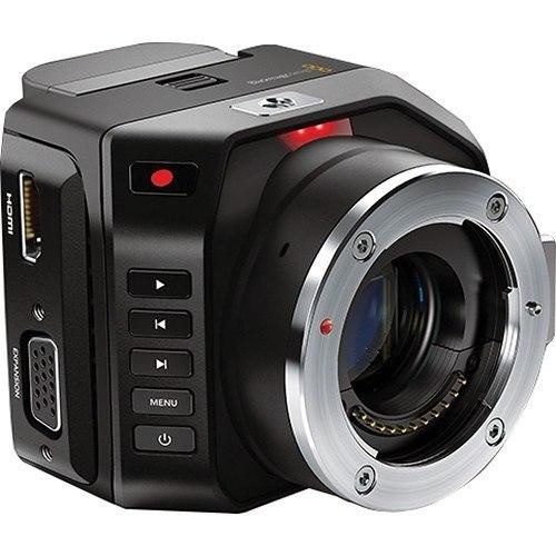 Blackmagic Micro Cinema Kamera - Schrägansicht