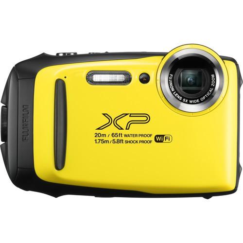 Fujifilm FinePix XP130 gelb - Frontansicht