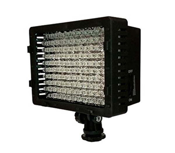 B.I.G. Video-Flächenleuchte 126x LED - Frontansicht