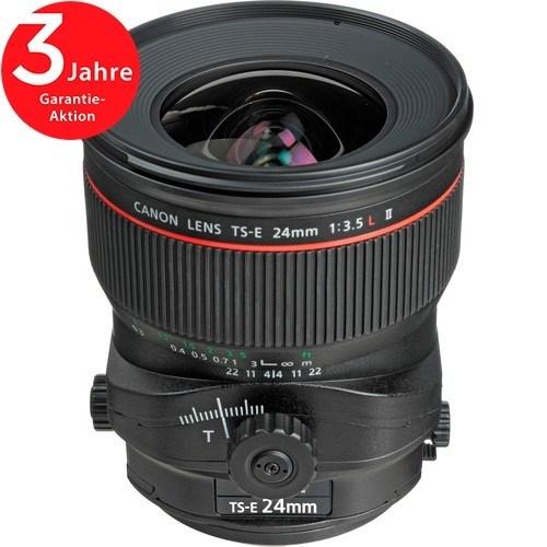 Canon TS-E 24mm f/3.5 L II Objektiv - Frontansicht
