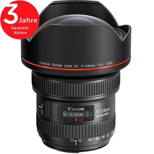 Canon EF 11-24mm f/4 L USM Objektiv - Frontansicht
