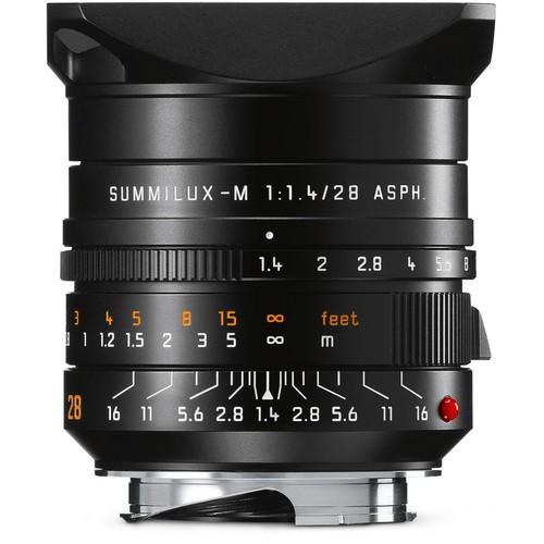 Leica Summilux-M 28mm f/1.4 ASPH. Objektiv 11668