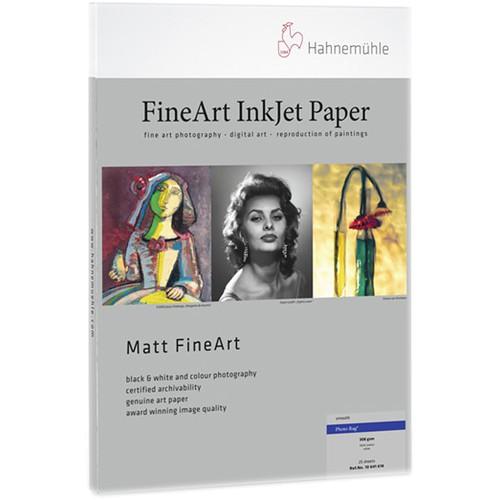 Hahnemühle FineArt Photo Rag 308g Papier A3+ 25 Blatt - Frontansicht