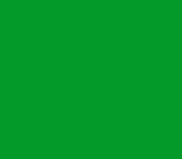 Tetenal Hintergrund 2,72x11m tech grün - Frontansicht
