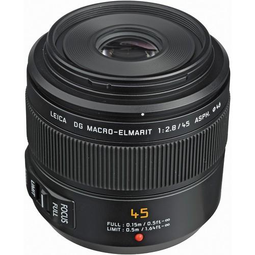 Panasonic Leica DG Macro-Elmarit 45mm f/2.8 ASPH. MEGA O.I.S. Objektiv