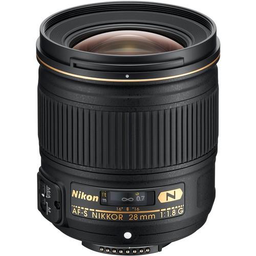 Nikon AF-S Nikkor 28mm f/1.8 G Objektiv