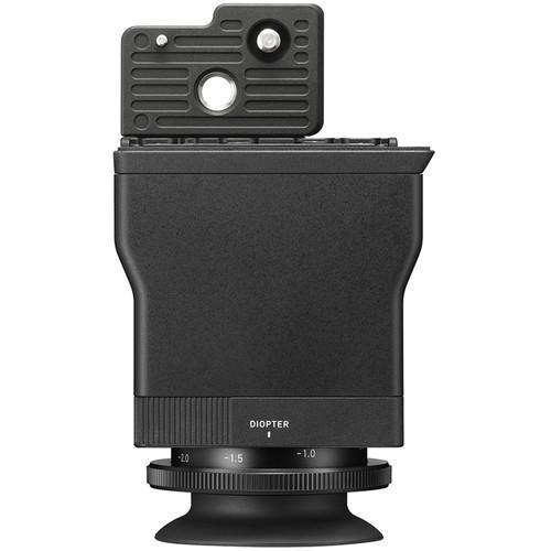 Sigma LVF-11 LCD Sucher für fp - Frontansicht