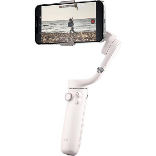 DJI OM 5 Smartphone-Gimbal Sunset White
