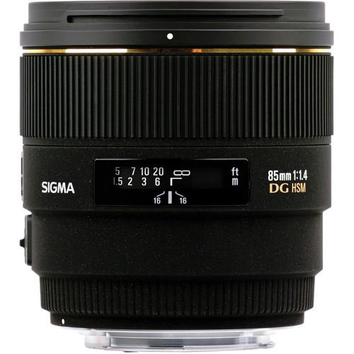 Sigma AF 85mm f/1.4 EX DG HSM Objektiv für Nikon