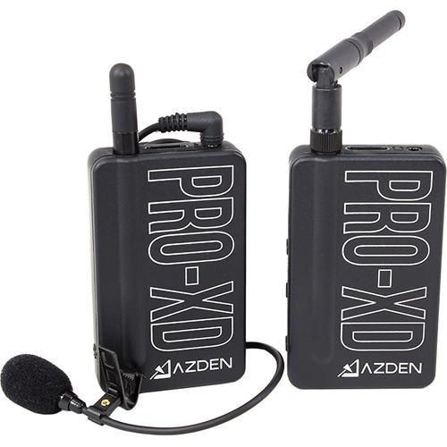 Azden PRO-XD Digital Wireless Mikrofon System - Frontansicht