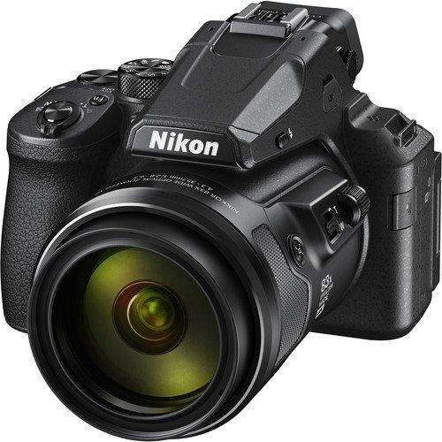 Nikon Coolpix P950 schwarz - Schrägansicht