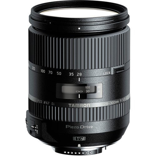 Tamron AF 28-300mm f/3.5-6.3 Di VC PZD Objektiv für Canon